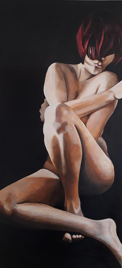 Female Painting - BNC by Jacqui Simpson