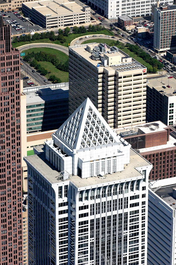 Aerial Photo Photograph - Bny Mellon Center 1735 Market Street Philadelphia Pa 19103 2998 by Duncan Pearson