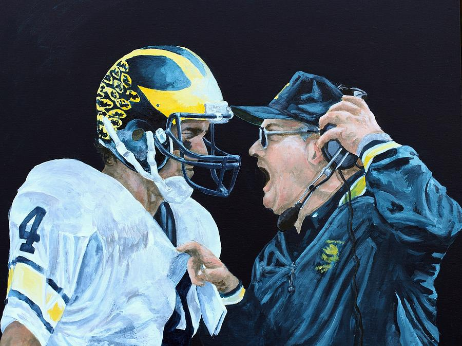 Michigan Painting - BO Knows by Travis Day