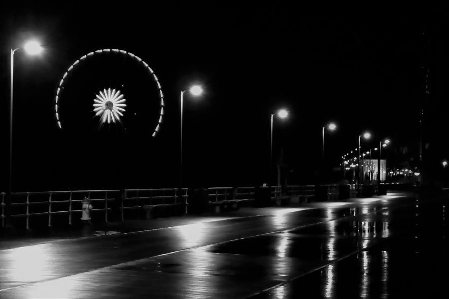Boardwalk Amusement At Night by Jason Denis