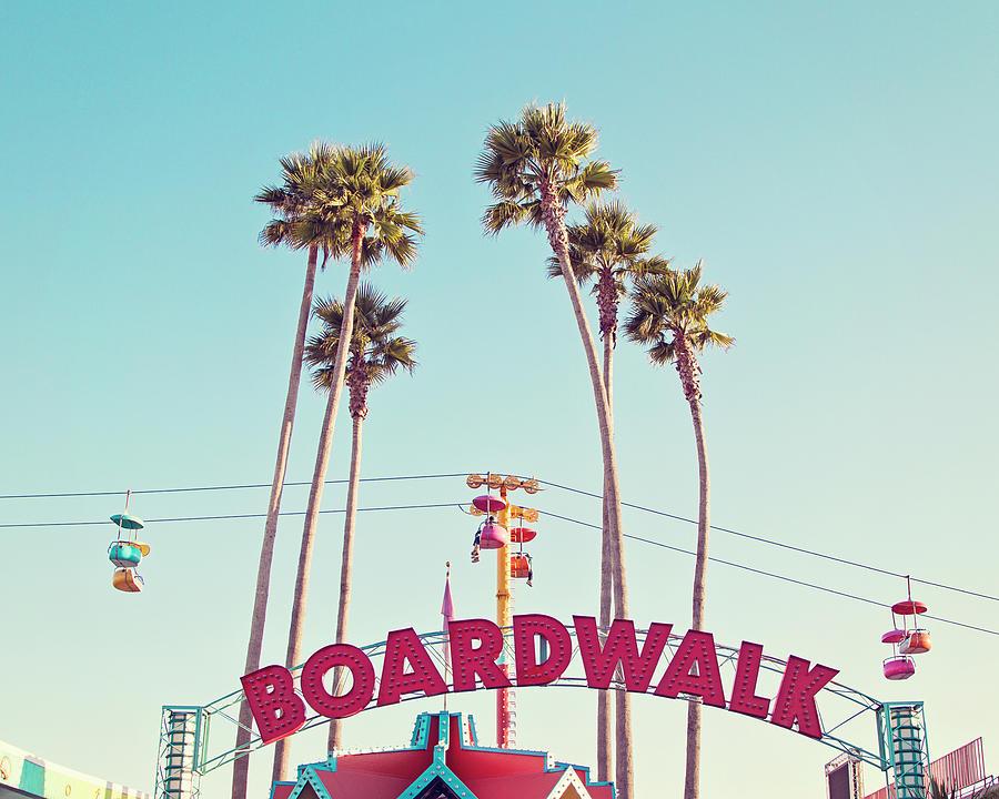 Boardwalk Photograph - Boardwalk by Melanie Alexandra Price