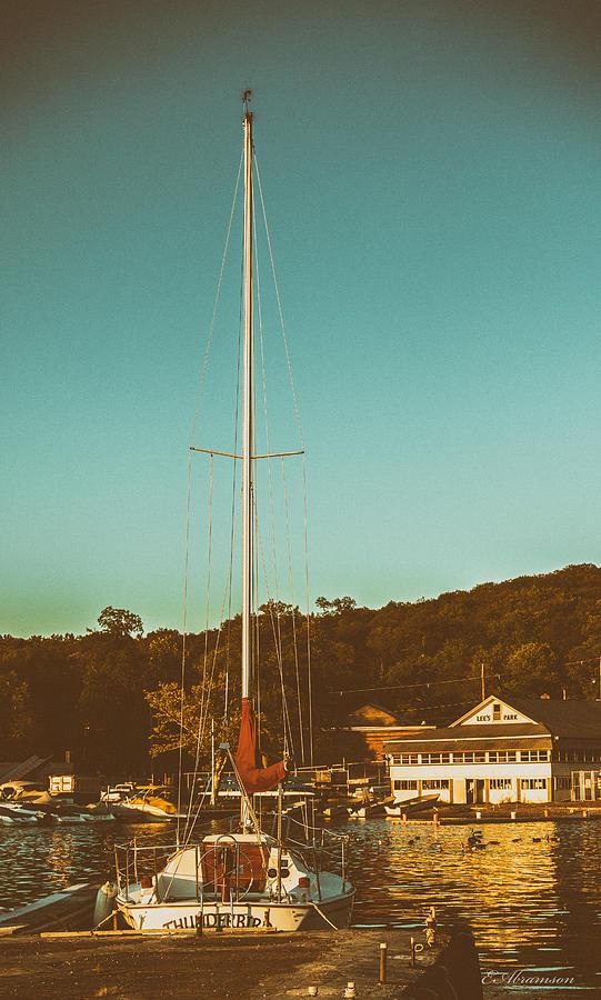 Boat At Lees Park Photograph