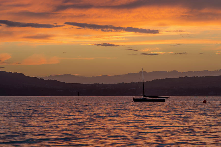 Belfast Photograph - Boat by Holywood by Glen Sumner