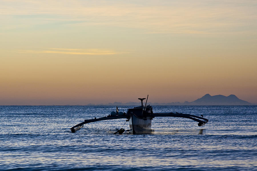 Seascape Photograph - Boat by George Cabig