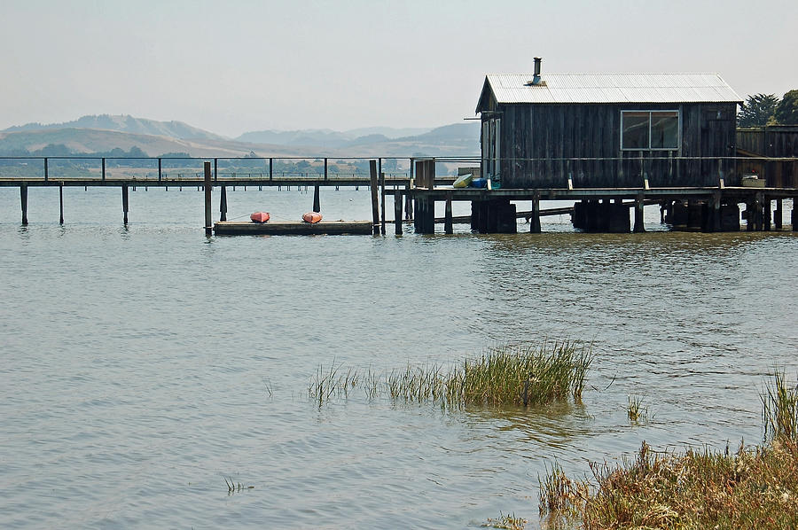 Boat House Photograph - Boat House at Inverness  by Suzanne Gaff