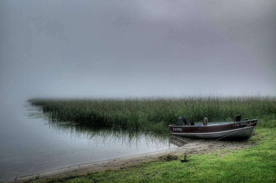 Boat in the Fog by Dave Rennie