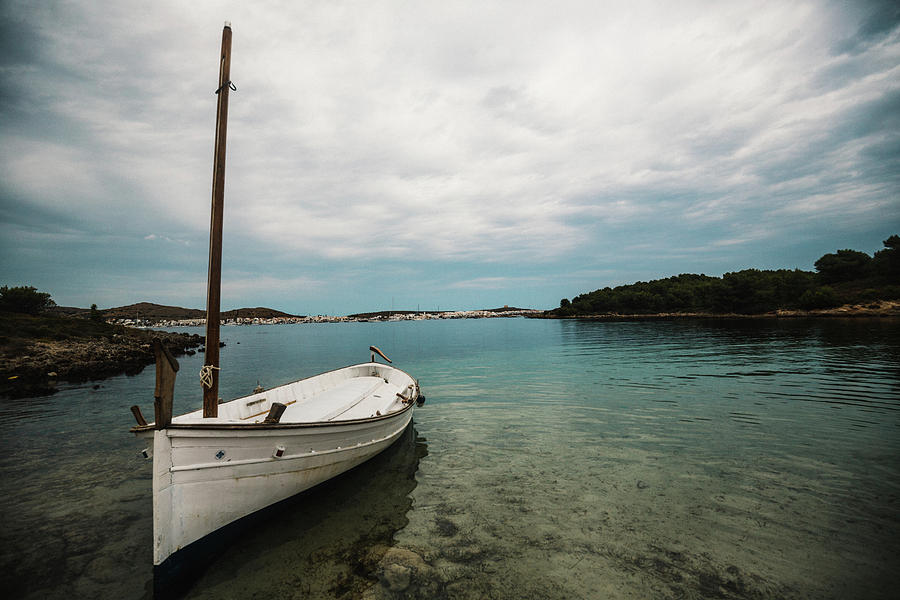 Calm Photograph - Boat Iv by Gemma Silvestre