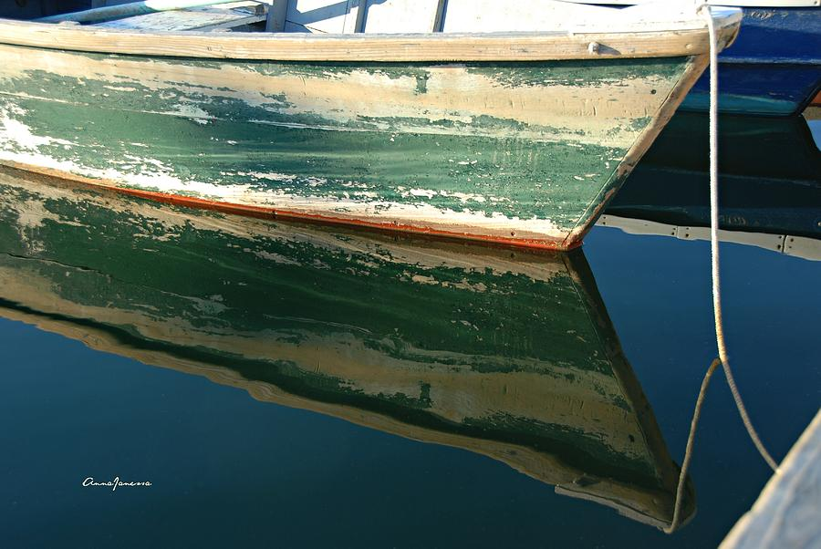 Boat Reflection by AnnaJanessa PhotoArt