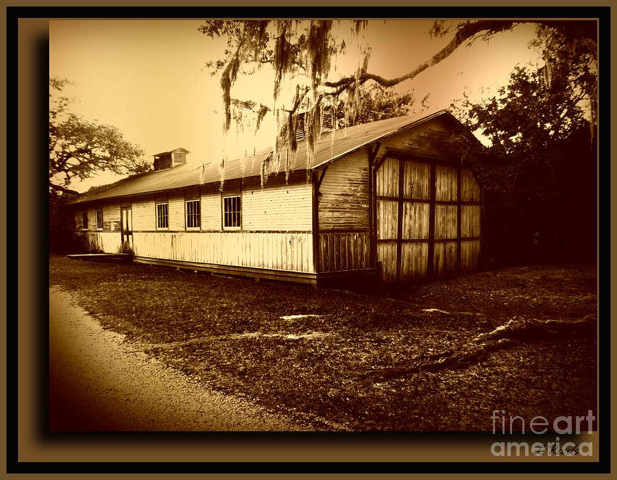 Boathouse - Avery Island by Leslie Revels
