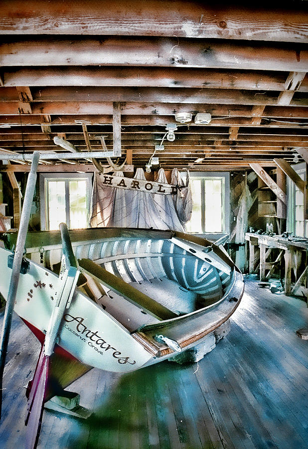 Boathouse Photograph - Boathouse by Heather Applegate