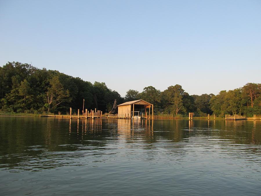 Boathouse Landing Photograph