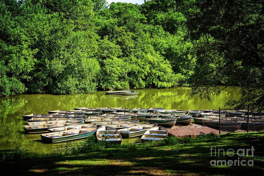 Boating season by Franz Zarda