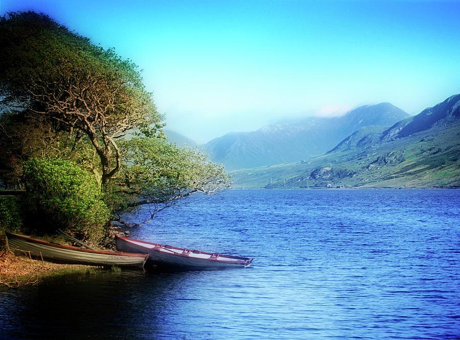 Connemara Photograph - Boats At Rest by Scott Kemper