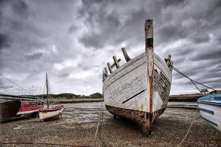 Boats By The Sea Photograph