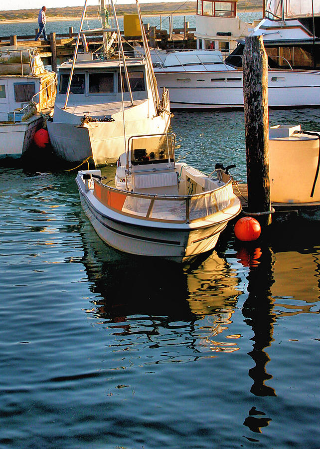 Boats Photograph - Boats In Morro Bay California by Bill Mollet