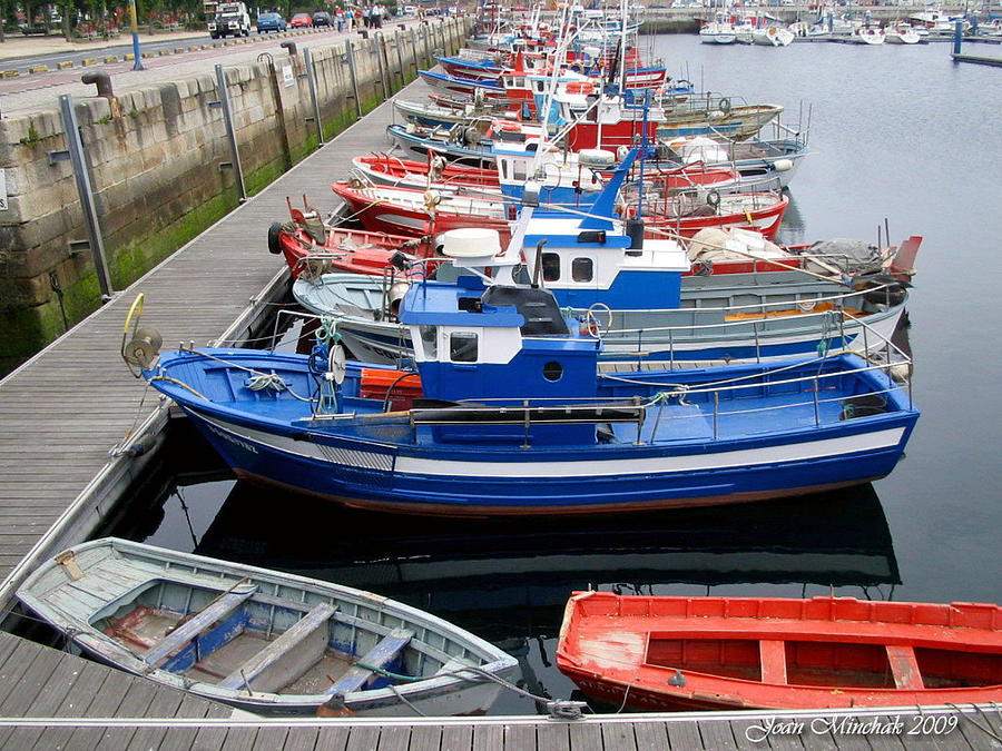 Boats In Norway Photograph