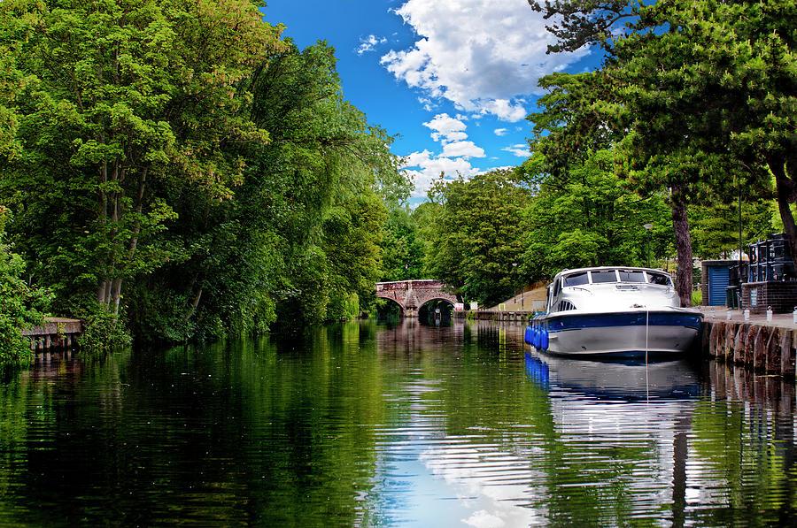 Boats in Norwich by Meirion Matthias