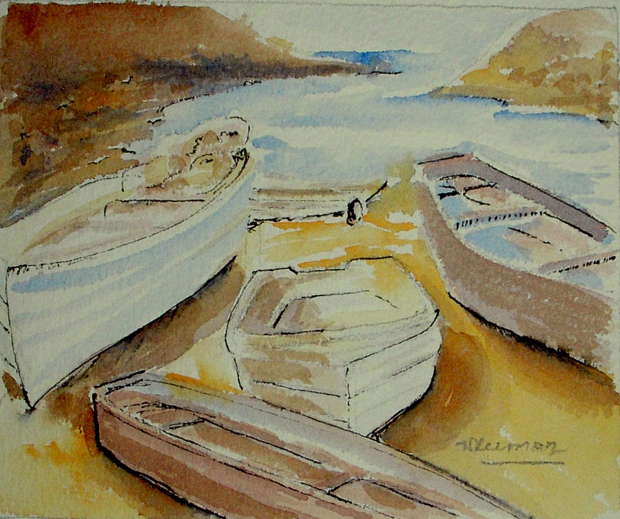 boats by Naini Kumar