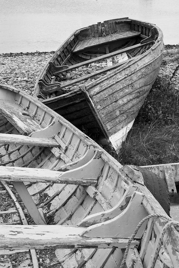 Greystones Photograph - Boats On Beach - Greystones Harbour by Gary Rowe