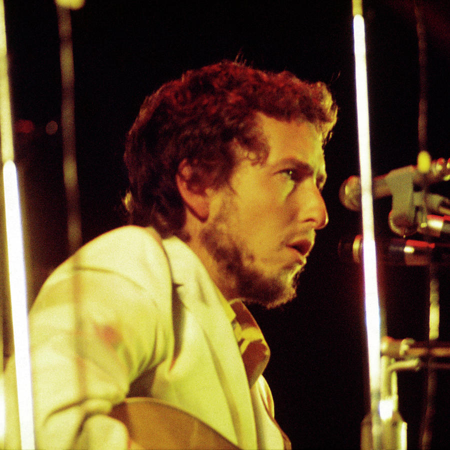 Bob Dylan 1969 Isle Of Wight no3 -Square by Chris Walter