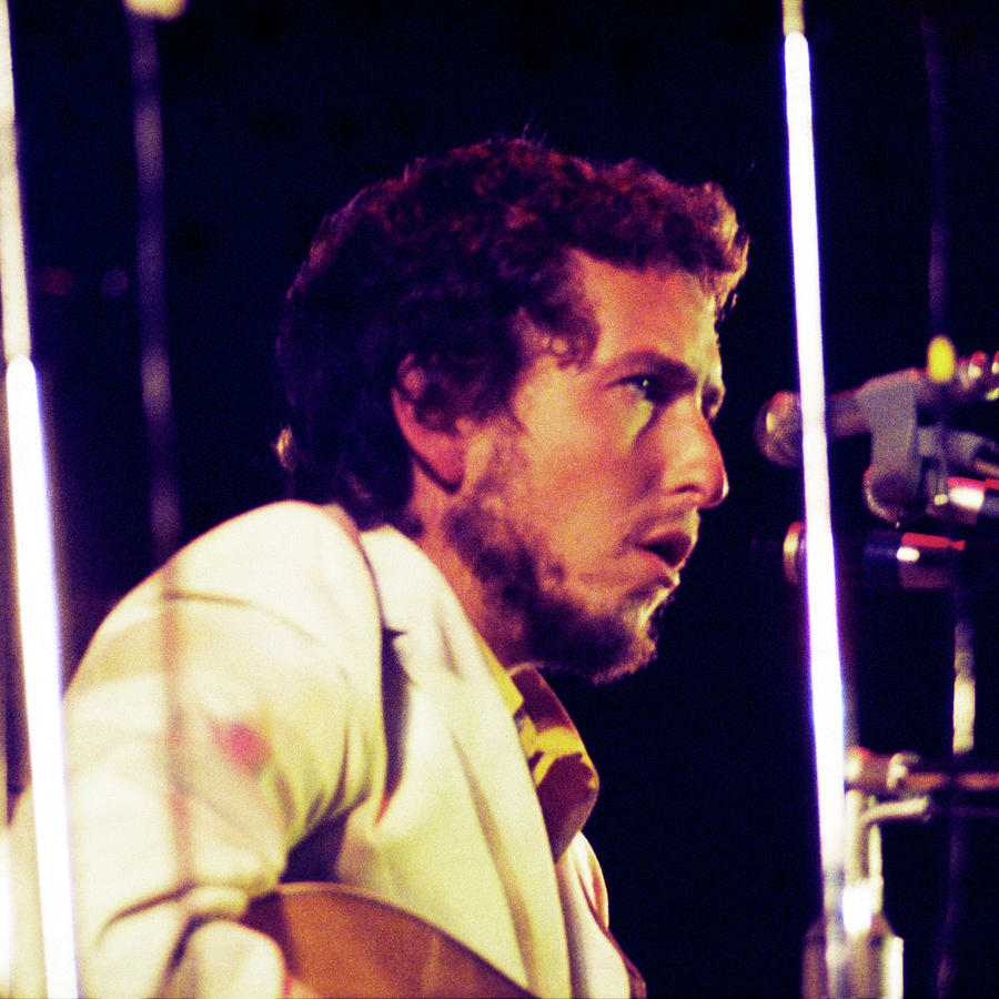 Bob Dylan 1969 Isle Of Wight no3 -Square Variation by Chris Walter