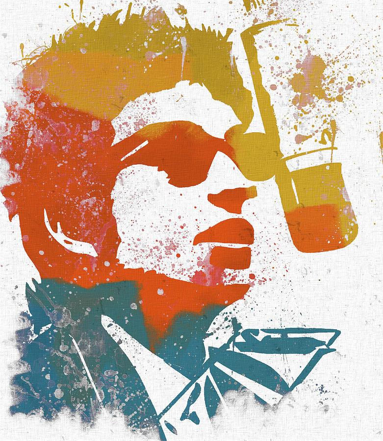 Bob Dylan Mixed Media - Bob Dylan  by Dan Sproul