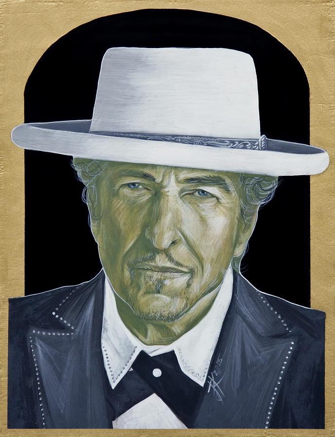 Bob Dylan Painting - Bob Dylan by Jovana Kolic