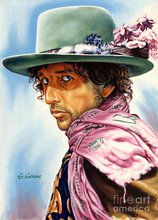 Bob Dylan Painting - Bob Dylan by Spiros Soutsos