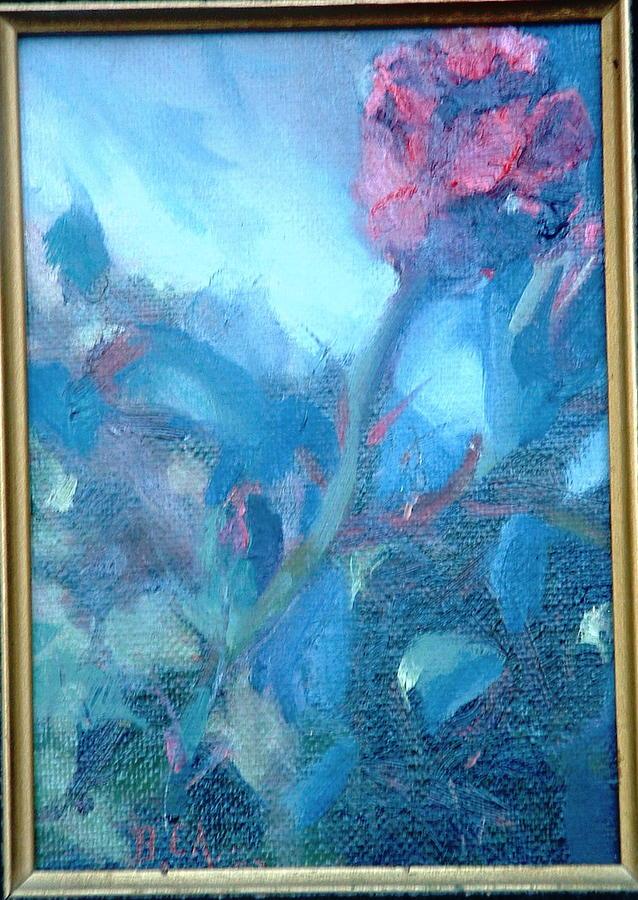 Still Life Painting - Bob Hope Rose by Bryan Alexander