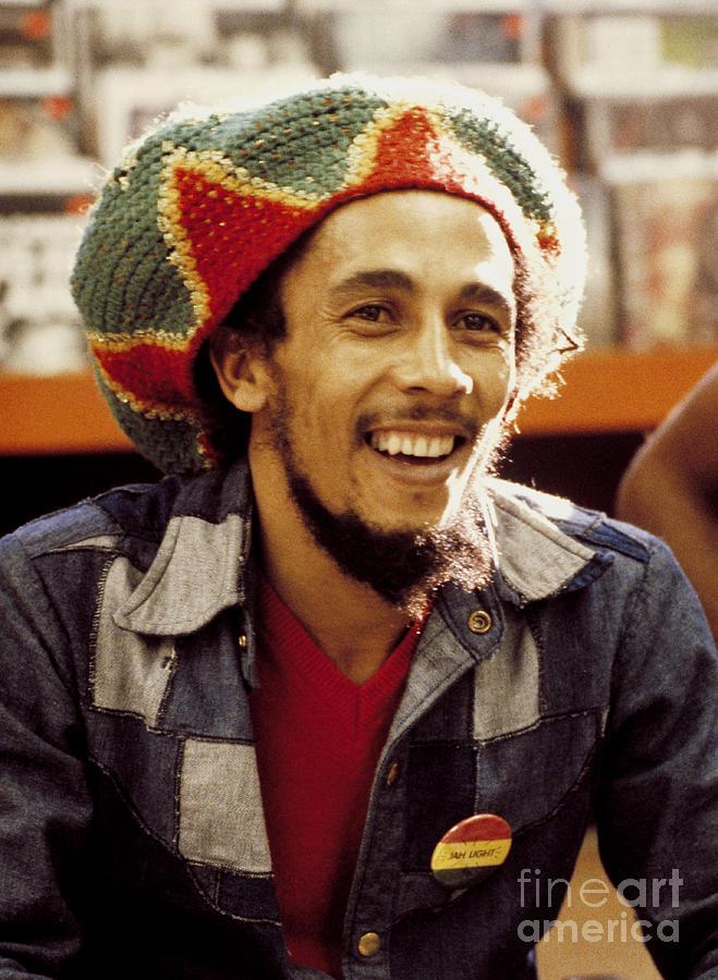 Bob Marley Photograph - Bob Marley 1979 by Chris Walter