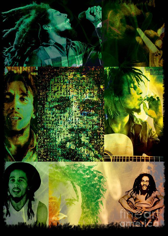 Bob Marley Photograph - Bob Marley by Ankeeta Bansal