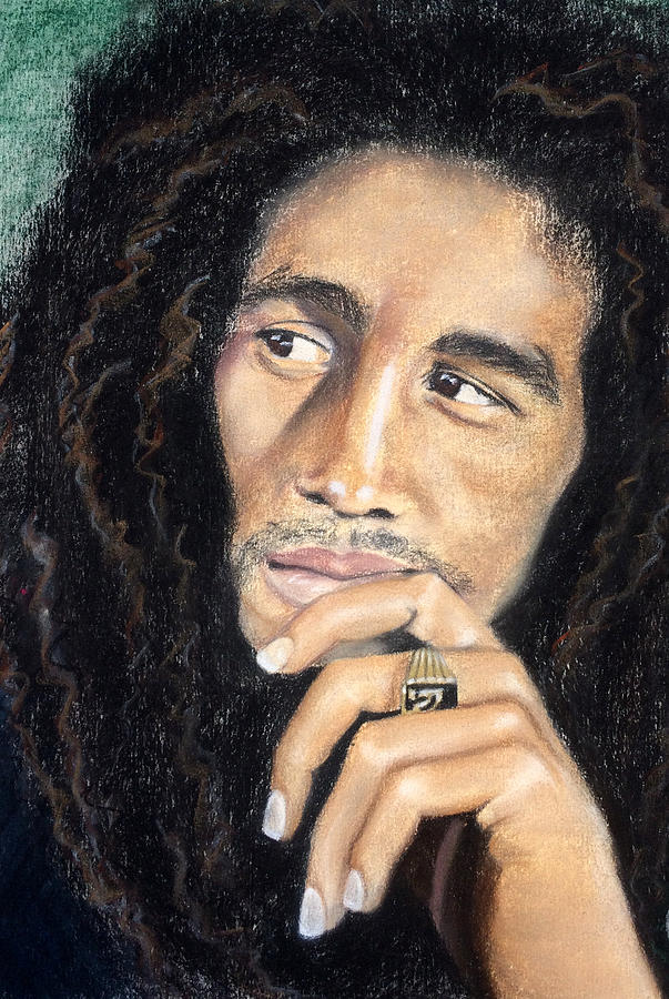 Bob Marley by Ashley Kujan