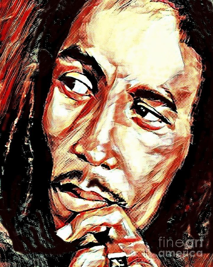 Bob Marley by Jessie Art