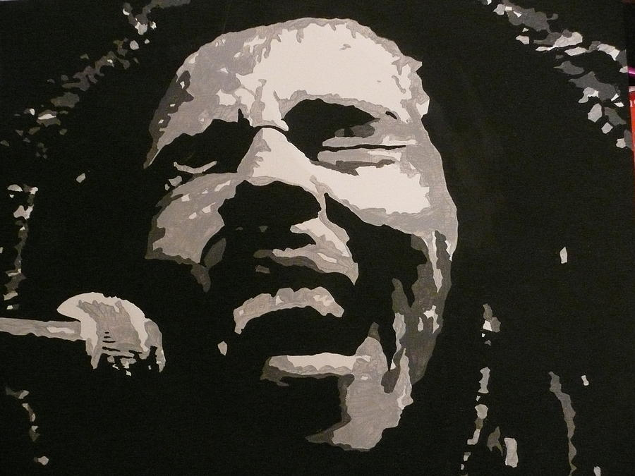 Bob Marley Painting - Bob Marley by Mandy Beatson