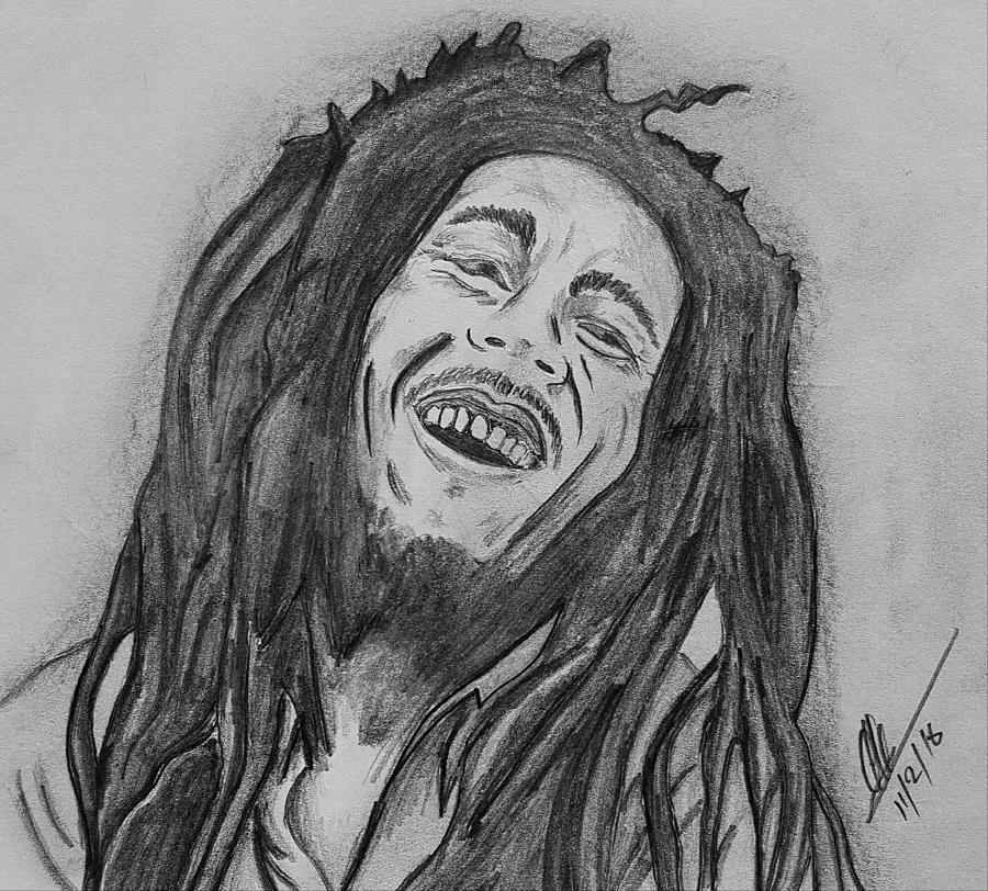 Bob Marley Pencil Art ...