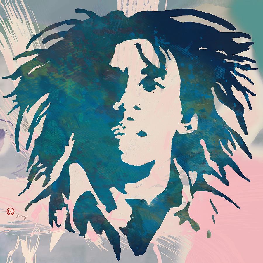 Bob Marley Stylised Pop Art Poser Drawing By Kim Wang