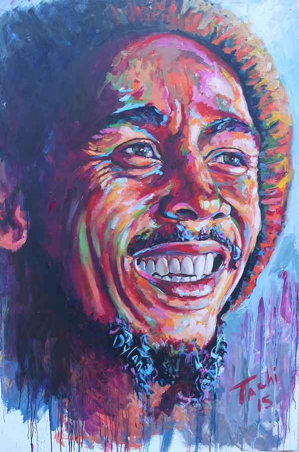Bob Marley by Tachi Pintor
