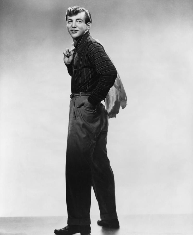 1950s Hairstyles Photograph - Bobby Darin, Ca. Mid-1950s by Everett