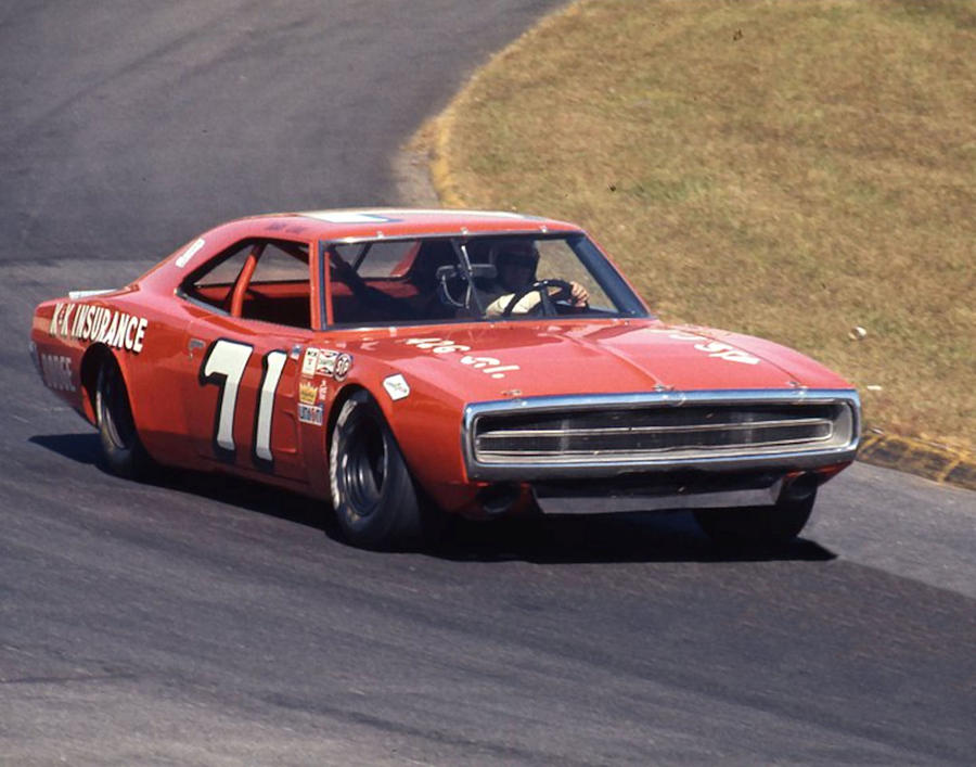 Bobby Isaac 71 Dodge Charger 1968 At Martinsville Photograph By