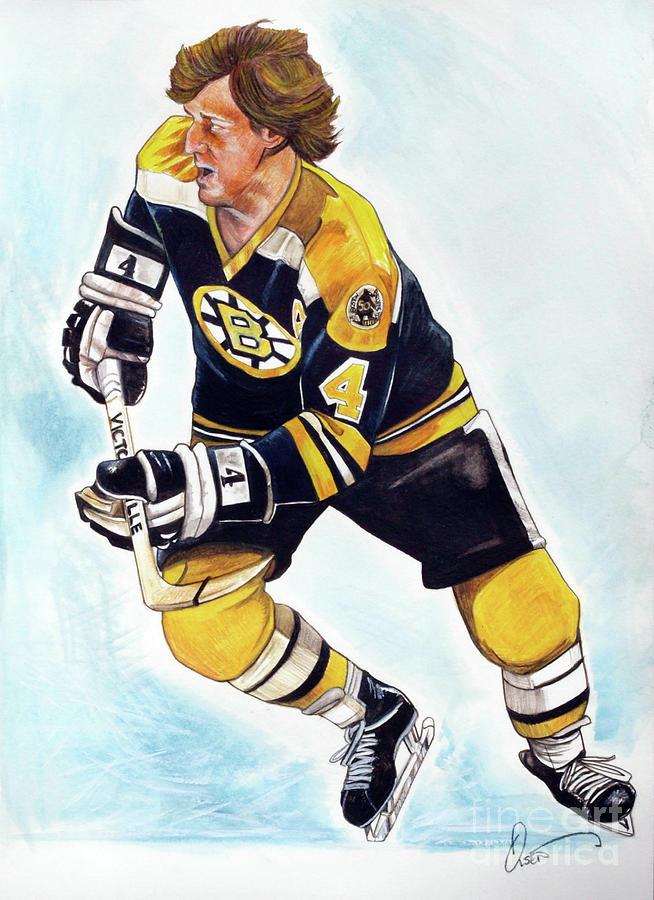 Bobby Orr Painting - Bobby Orr by Dave Olsen