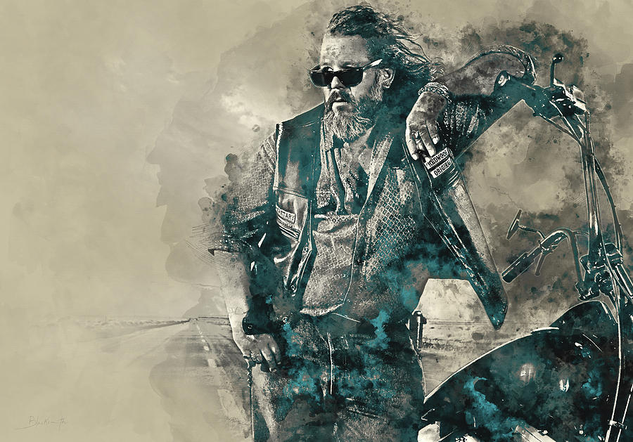 Bobby, Sons Of Anarchy Painting