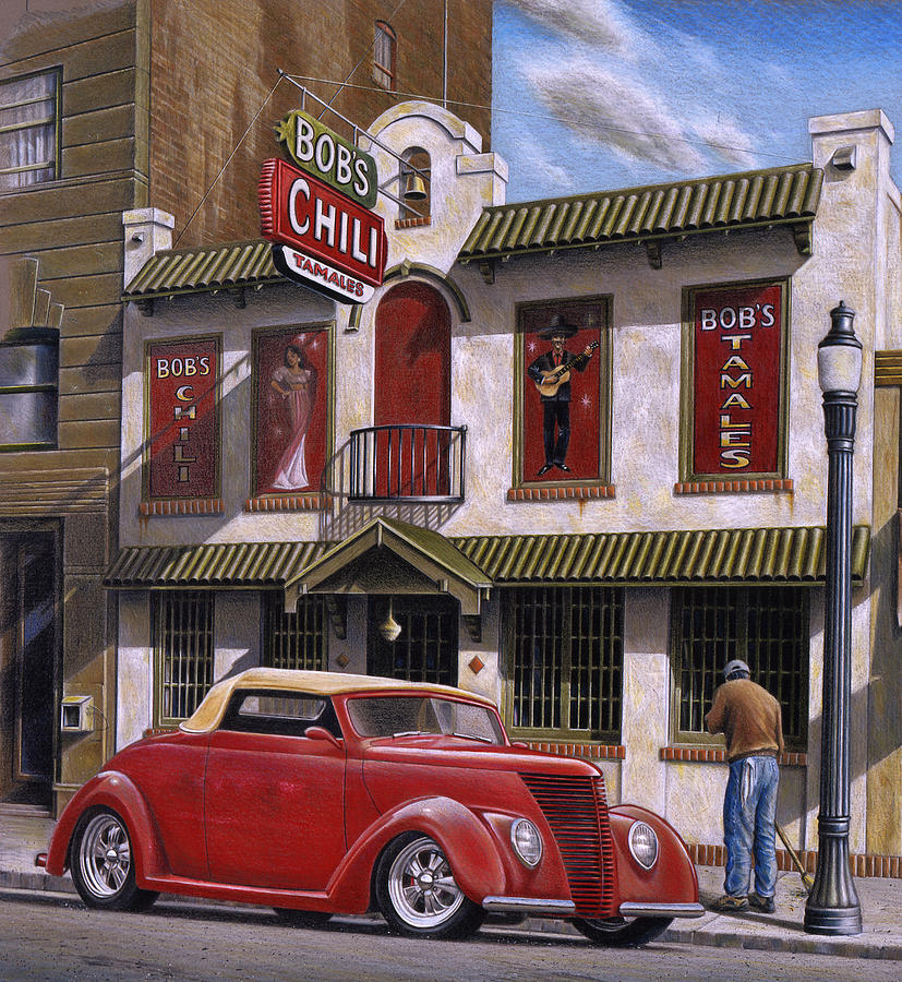 Bobs Chili Parlor Painting