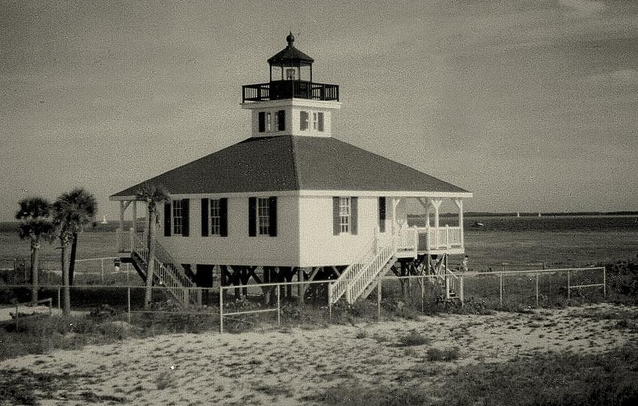 Photograph Photograph - Boca Grande Lighthouse by Lois Lepisto