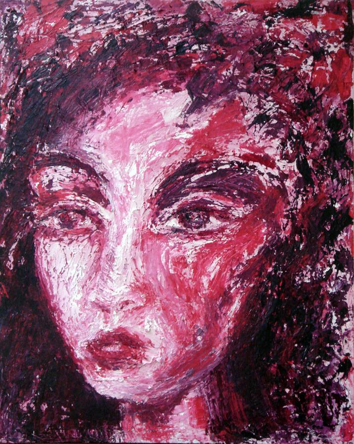 Woman Painting - Bodas de Sangre by Jenni Walford