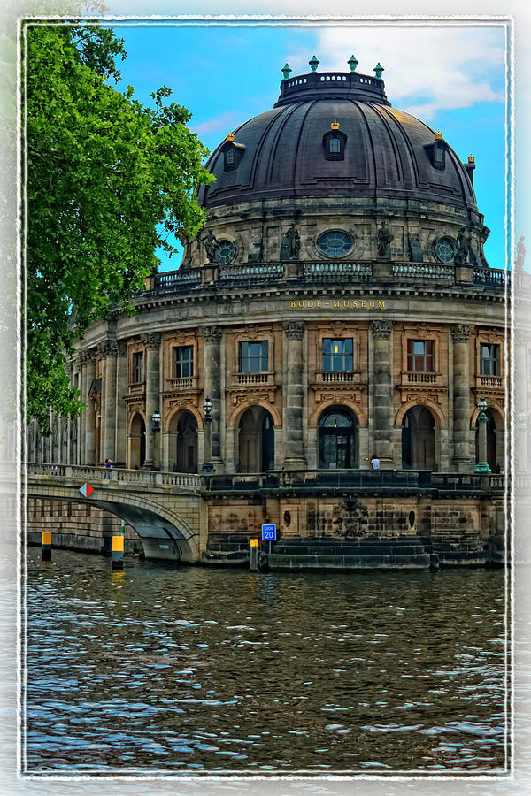 Ancient Photograph - Bode Museum by Joan Carroll