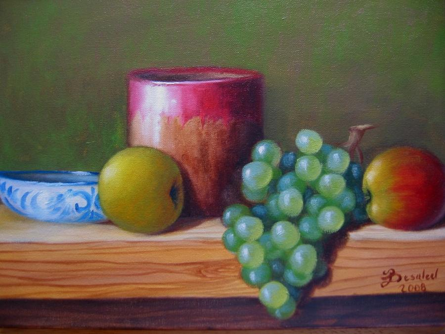 Bodegon Painting by Besaleel