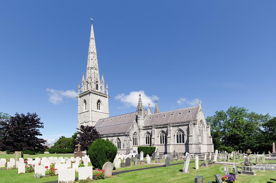Saint Margaret Photograph - Bodelwyddan Church by Steev Stamford
