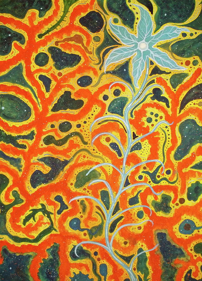 Bodhi Shunyata Painting by Scott Harrington