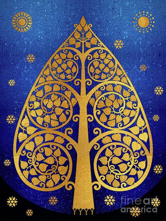 Bodhi Tree_v-3 Digital Art