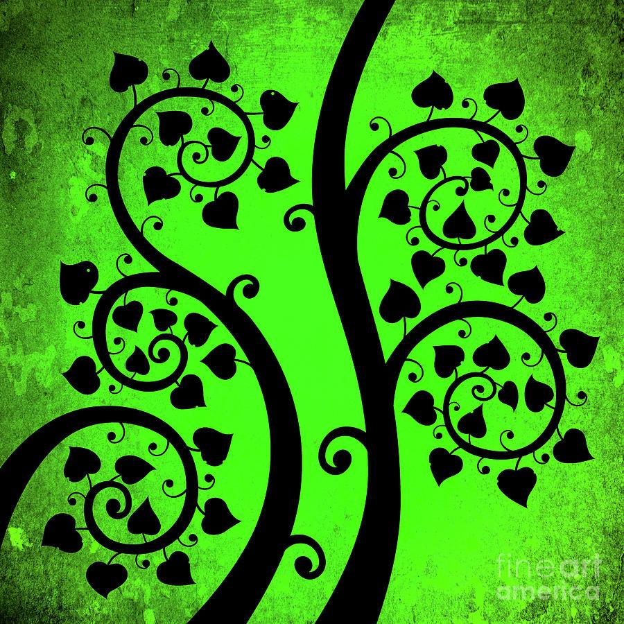 Bodhi Tree_vii-9 Digital Art